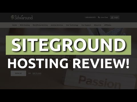 Siteground Review For Wordpress Hosting + Full Tutorial 2017 NEW!