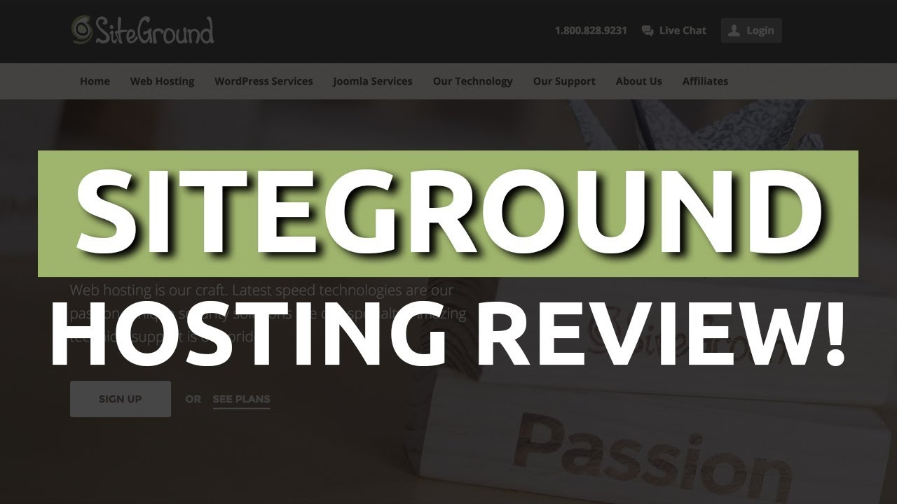 Siteground Hosting Box Inside