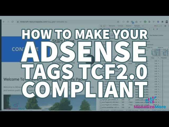 How To Make Your AdSense Tags TCF2.0 Compliant