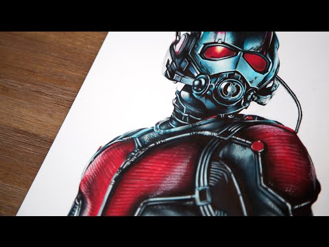 Ant-Man Speed Drawing