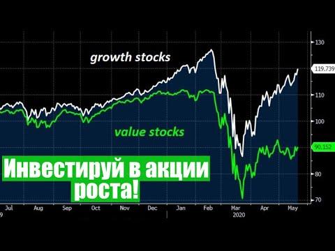 Инвестируй в акции роста! Инвестиции в кризис, отказ от дивидендов
