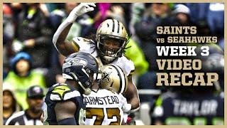 Saints-Seahawks Week 3 Video Recap   New Orleans Saints Football