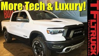 2019 Ram Rebel 12 First Look - Plus Two New HD and Power Wagon Editions!
