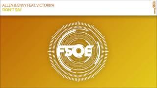 Allen & Envy feat Victoriya - Don't Say