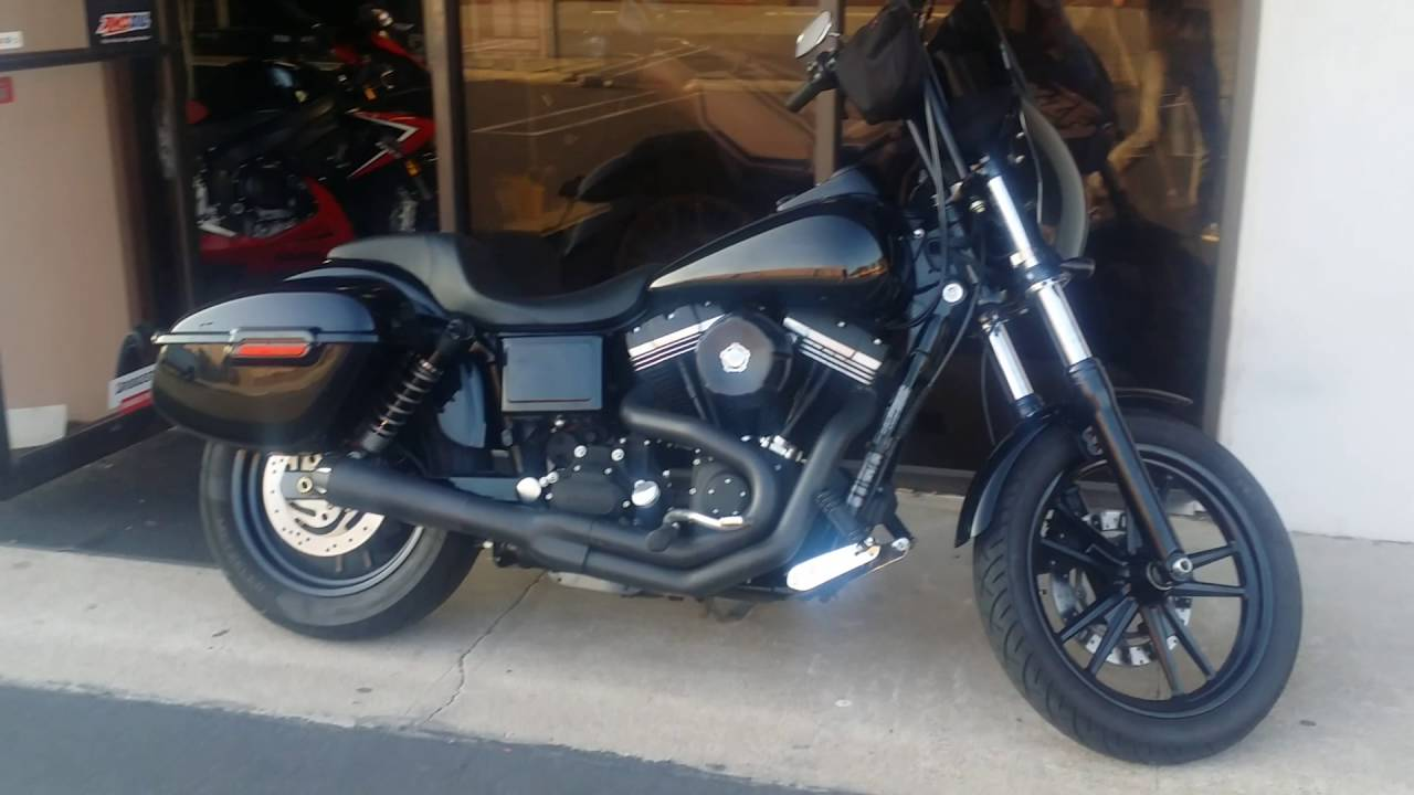2017 Dyna With Abs Saddlebags For Sportster