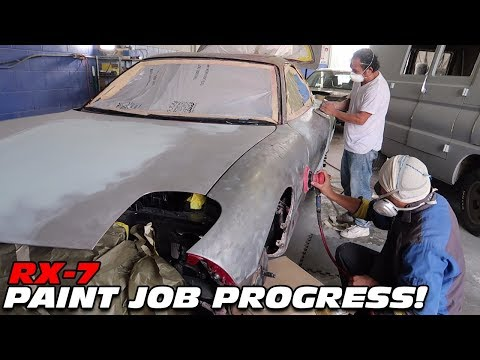 STRIPPING THE FD RX-7 TO BARE METAL!!!!! *PAINT JOB UPDATE*