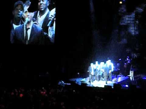 Michael Buble Stardust w/ Naturally 7 - Madison Square Garden New York - December 2008