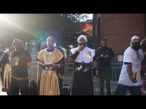 Hebrew Israelites Blaze Raleigh NC Pt1!