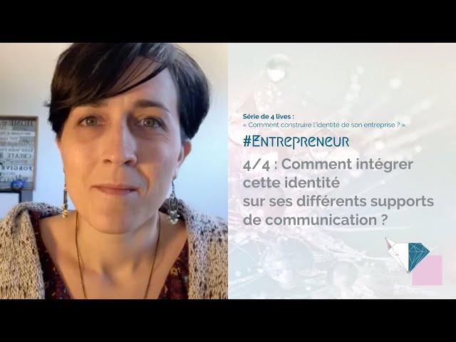 🦊 4/4 : Comment intégrer cette identité sur ses différents supports de communication ?