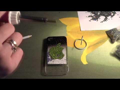 Декорируем чехол (бампер) телефона. Видео курс №2