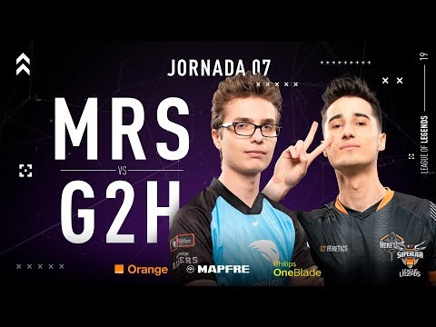 MOVISTAR RIDERS VS G2 HERETICS | Superliga Orange League of Legends | Jornada 07 | Temporada 2019 thumbnail