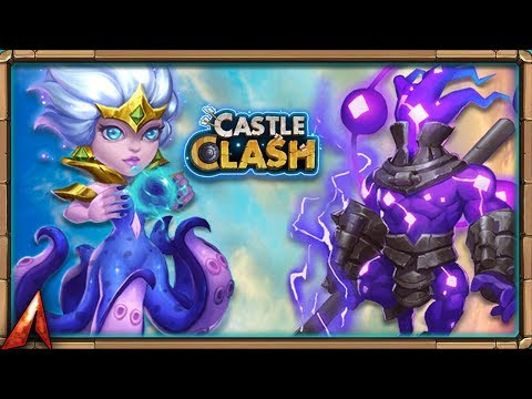 Rolling 33K Gems for New Hero Storm Eater! Castle Clash