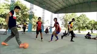 KOZ Street Futsal vs Tour Training Street Football at Hankha Chainat City