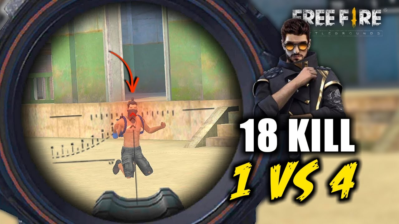 Back with Cupid Scar Solo vs Squad Ajjubhai OverPower Gameplay - Garena Free Fire