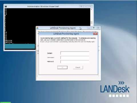 GS IS Solutions Powershell and LANDesk WinPE 4