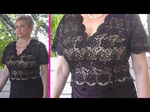 Как сшить ажурную блузку