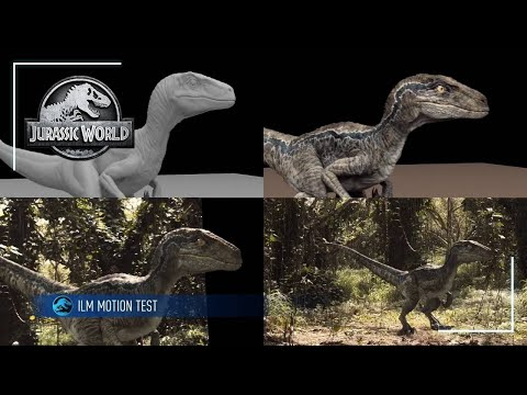 Creating the Dinosaurs of Jurassic World