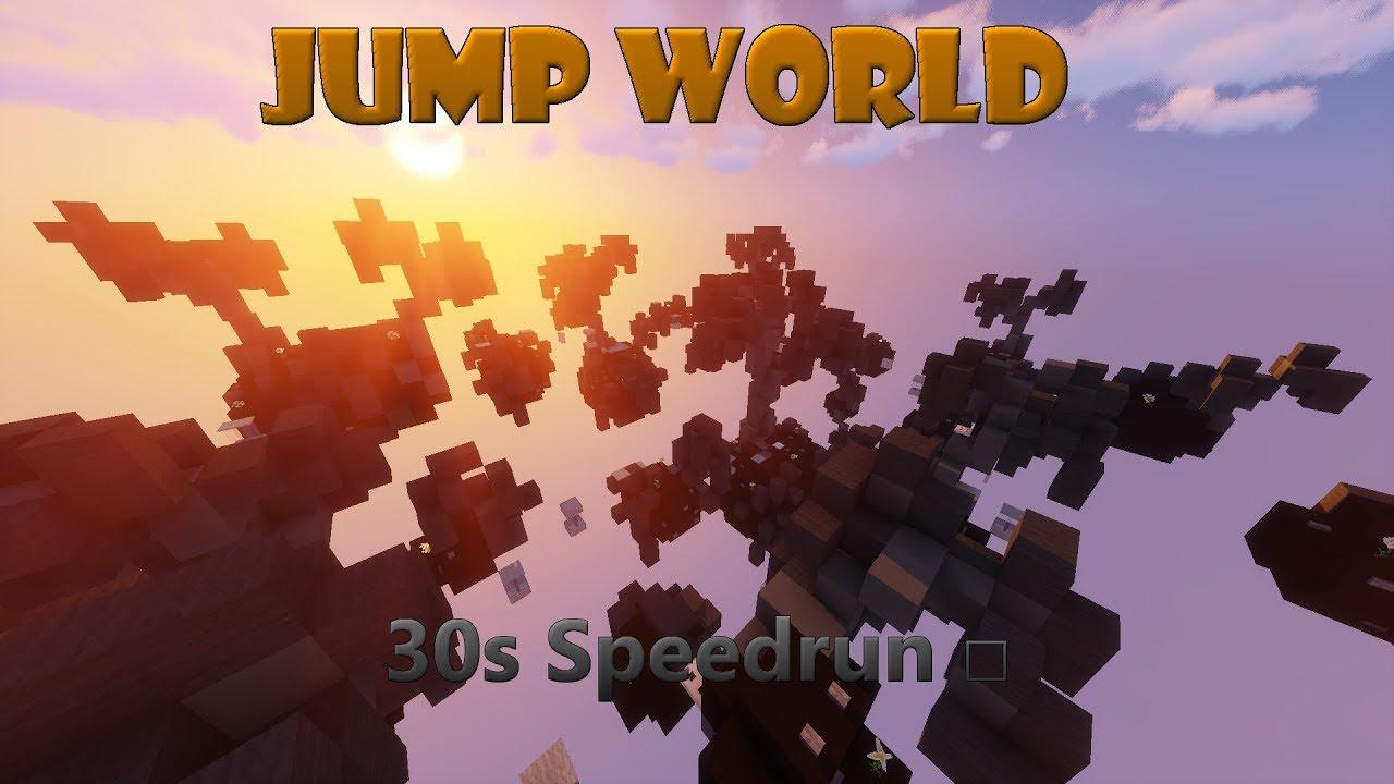 30s Speedrun □ |Minecraft Jump World|