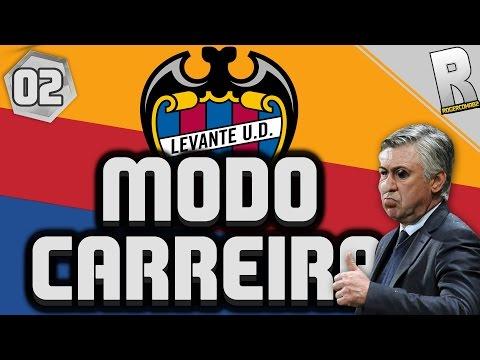 FIFA 17 LIVE - MODO CARREIRA NO LEVANTE #02