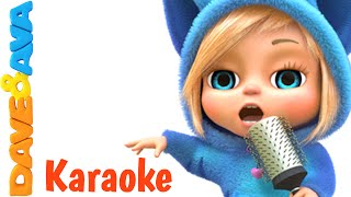 Wheels on The Bus and Many More Nursery Rhymes Karaoke Songs Collection | From Dave and Ava
