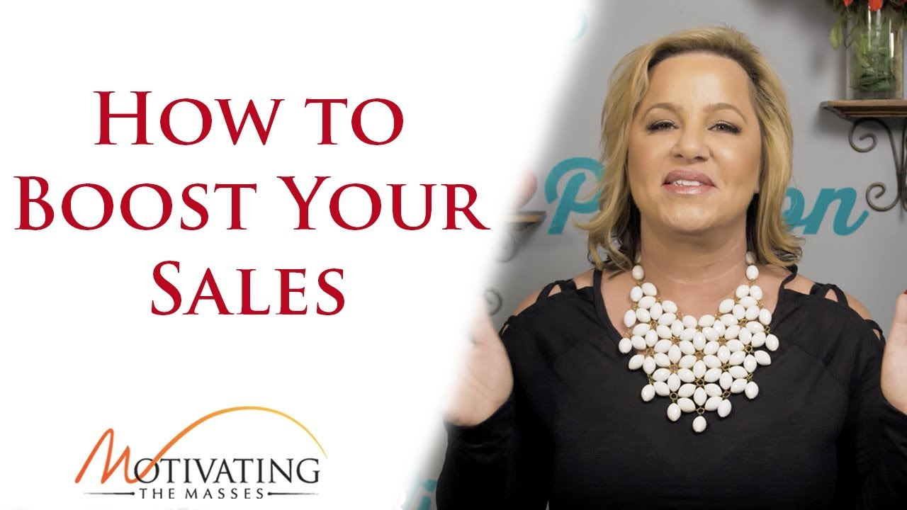 Susie Carder - How to Boost Your Sales