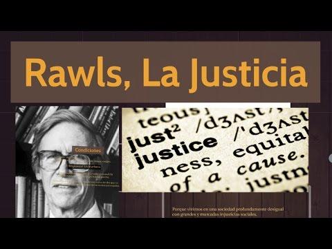 Contractualistas; Rawls, La Justicia