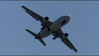 Awesome Airbus A300 F-WWSX Go Around at Toulouse-Blagnac Airport