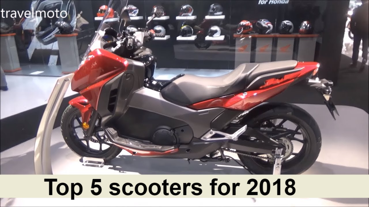 The Top 5 scooters for 2018 - YouTube