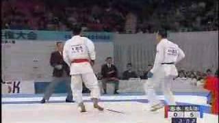 JKF National Karate Championships Men's Kumite FInal 2007