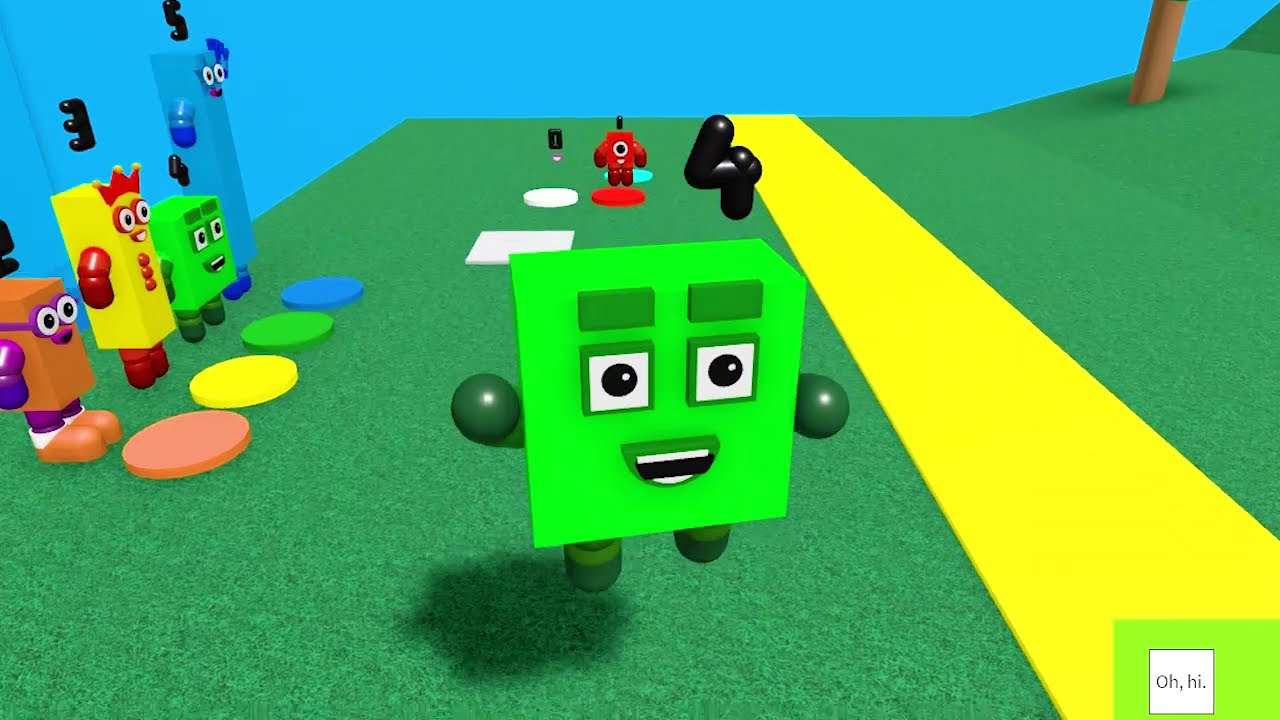 Download Speed Run for FUN for Four! Numberblocks