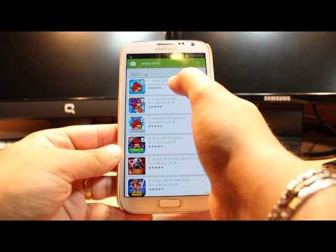 Angry Birds Install To Samsung Galaxy Note 2