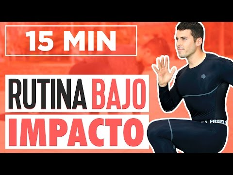 Cardio de bajo impacto - Rutina de ejercicios 15 minutos