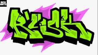HOW TO DRAW GRAFFITI RISK SPEED PAINTING TUTORIAL SKETCH LEARN MS PAINT LERNEN BLACKBOOK LETTERS