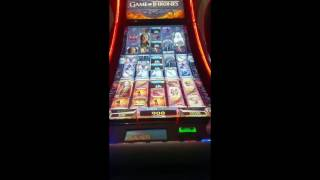 Game of Thrones Slot*$5Bet*3Bonus/Live Play/Line Hit *(Slot machine:2 Bonus, Followed By some Live Play, The 3rd Bonus is at the 8:12 Mark, Ending With A Line Hit Enjoy!, 2016-06-03T00:55:59.000Z)