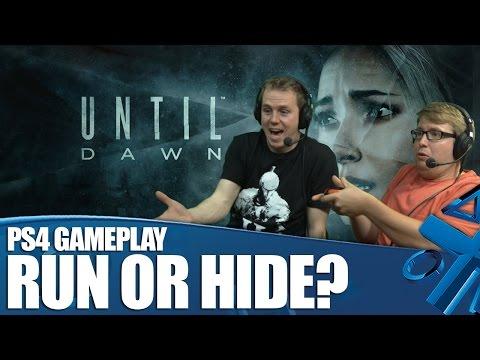 Until Dawn - геймплей