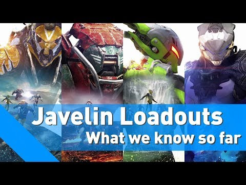 Anthem | Javelin Loadouts | What we know so far [Gameplay/Discussion]
