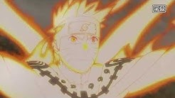 Naruto First time links with Kurama - First Time Nine tailed beast Transformation