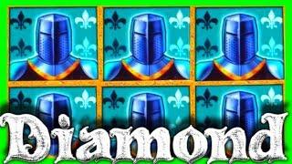 NEW GAME! 💎 BIGGEST WIN ON YOUTUBE 🛡On BLACK KNIGHT DIAMOND Slot Machine ⚔ BONUS! 💎 SDGuy1234