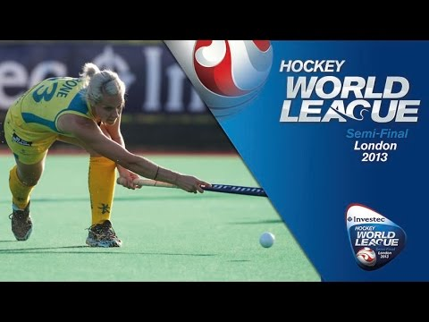 England vs Australia - Full Match Final - Women's Hockey World League London [30/6/13]