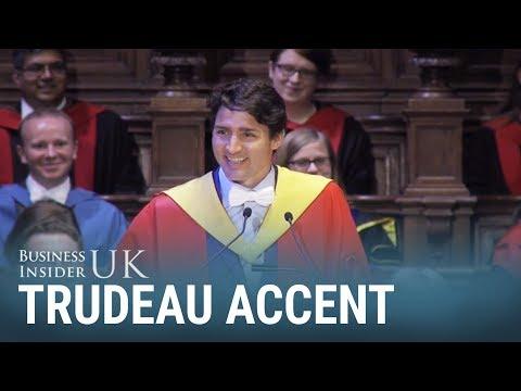 Justin Trudeau just did a pretty good Scottish accent at Edinburgh University