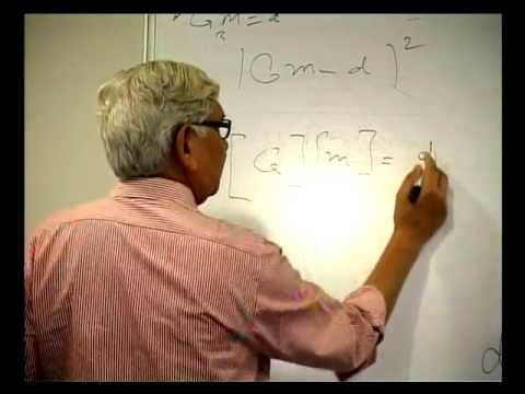 013 Inverse Problem Theory with examples