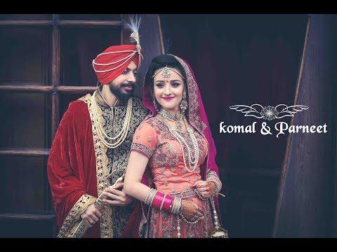 Indian Wedding   Cinematic Highlights   Komal & Parneet   Nindi Studios