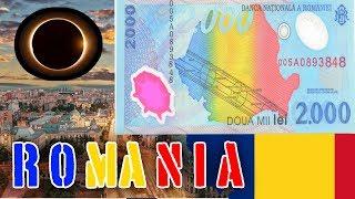 Romanian 2000 lei  1999 Solar Eclipse
