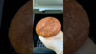 Stuffed Bison Burgers | Remix of the Juicy Lucy #bison #burgers #griddle