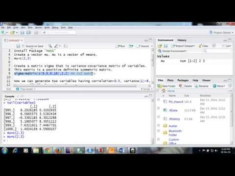 how to make a correlation matrix using quantitative variables