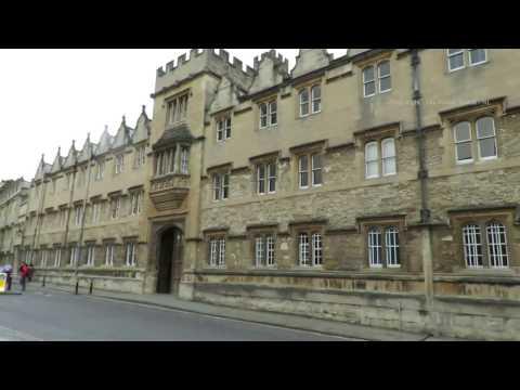 Corpus Christi College in  Oxford England