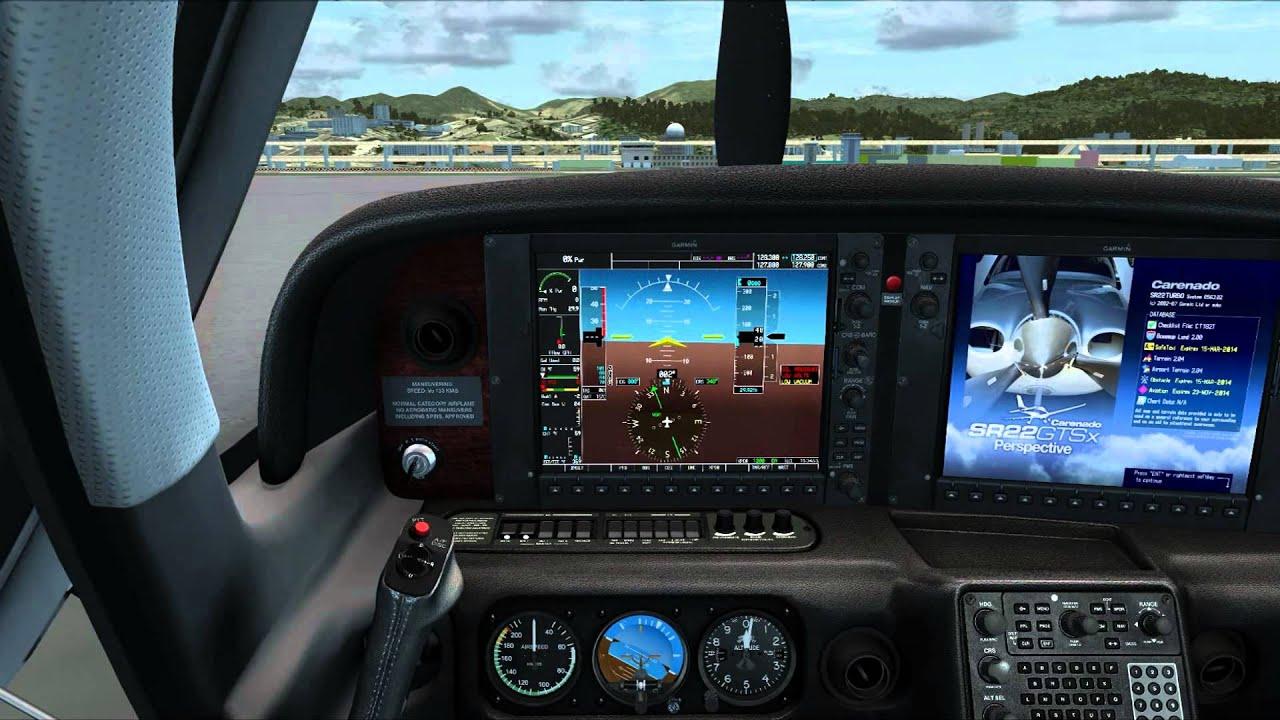 [FSX] Carenado SR22 GTSX TURBO HD SERIES First Flight by Alex Su