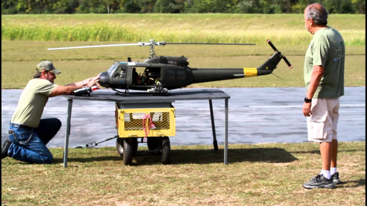 Huey Helicopter For Sale >> RC Turban Huey - YouTube