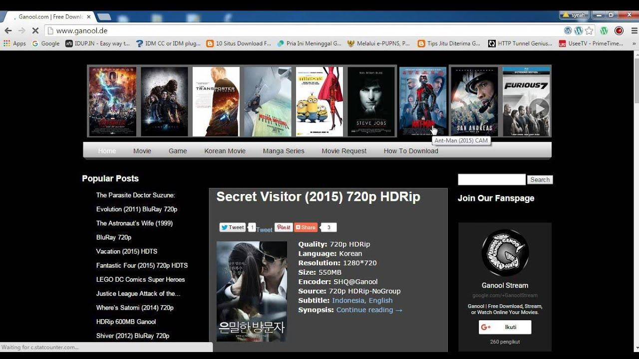 Cara Download Film Di Ganool Youtube