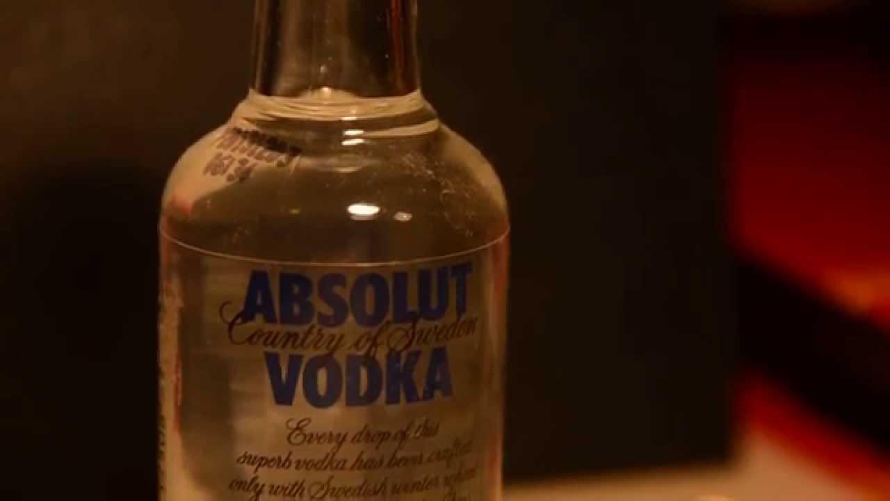 Absolut Vodka Mini Bottle | 50mL | Alcohol Volume 40 0%